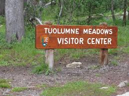 Tuolumne Meadows와 Tioga Pass Road 지역